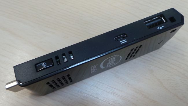 Intel Compute Stick usb port